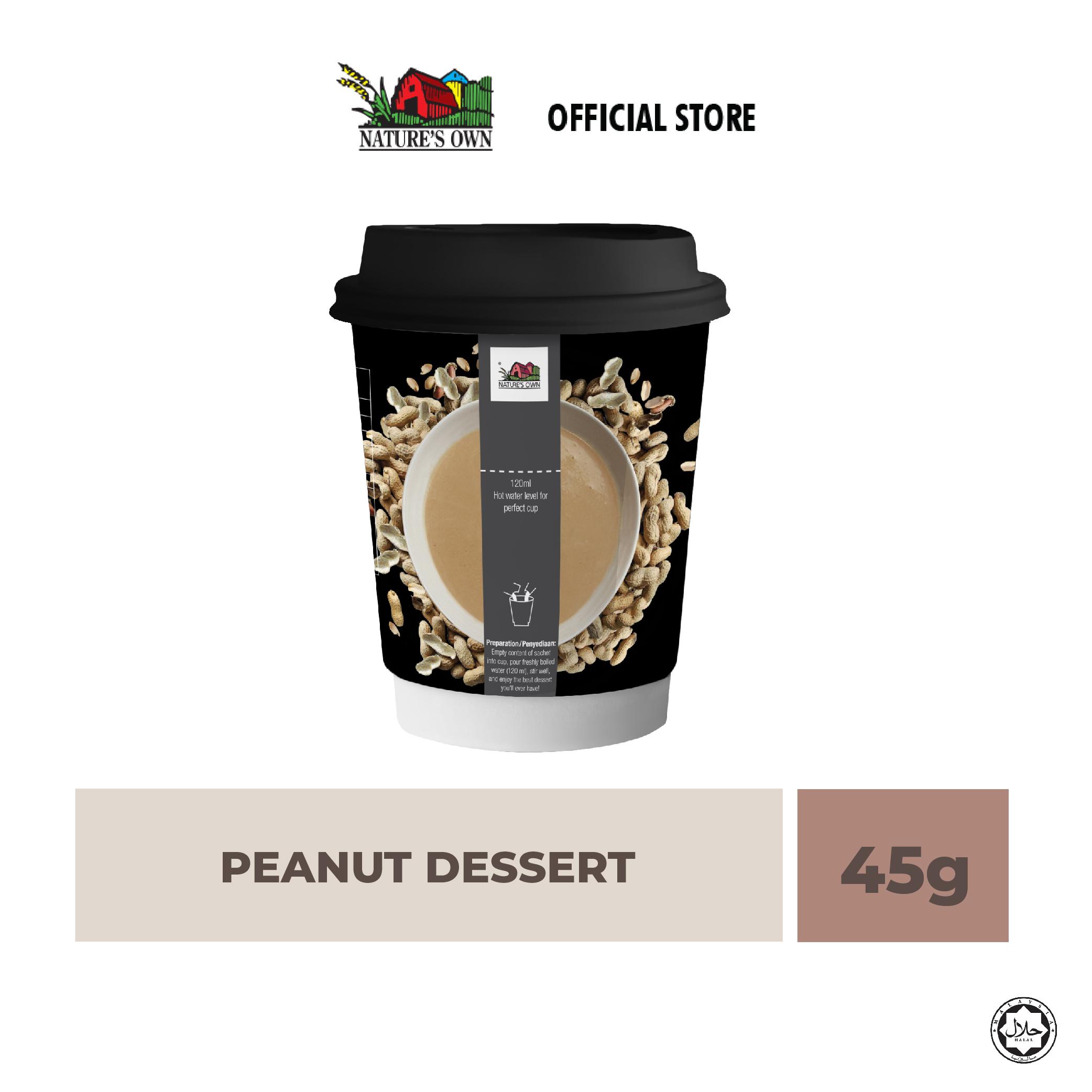 nature's own instant peanut dessert